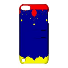 Critical Points Line Circle Red Blue Yellow Apple Ipod Touch 5 Hardshell Case With Stand by Mariart