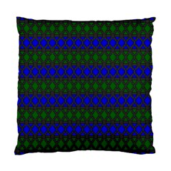 Diamond Alt Blue Green Woven Fabric Standard Cushion Case (one Side) by Mariart