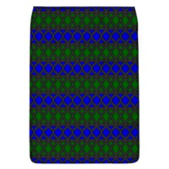 Diamond Alt Blue Green Woven Fabric Flap Covers (l)  by Mariart
