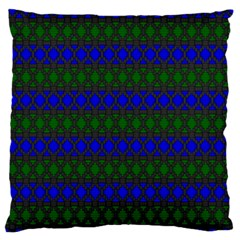 Diamond Alt Blue Green Woven Fabric Standard Flano Cushion Case (one Side)