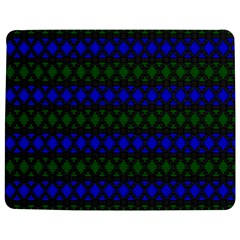 Diamond Alt Blue Green Woven Fabric Jigsaw Puzzle Photo Stand (rectangular) by Mariart