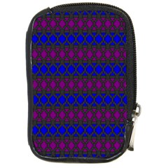 Diamond Alt Blue Purple Woven Fabric Compact Camera Cases by Mariart