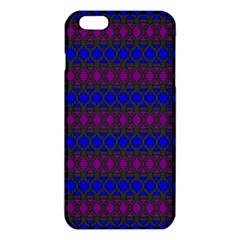 Diamond Alt Blue Purple Woven Fabric Iphone 6 Plus/6s Plus Tpu Case by Mariart