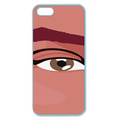 Eye Difficulty Red Apple Seamless Iphone 5 Case (color) by Mariart