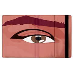 Eye Difficulty Red Apple Ipad 2 Flip Case by Mariart