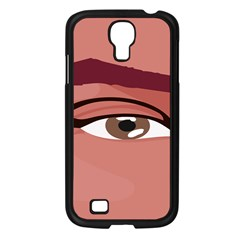 Eye Difficulty Red Samsung Galaxy S4 I9500/ I9505 Case (black) by Mariart
