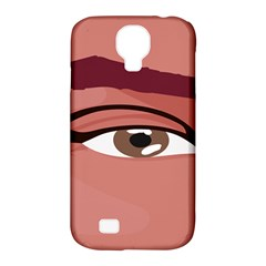 Eye Difficulty Red Samsung Galaxy S4 Classic Hardshell Case (pc+silicone) by Mariart