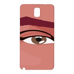 Eye Difficulty Red Samsung Galaxy Note 3 N9005 Hardshell Back Case by Mariart