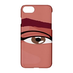 Eye Difficulty Red Apple Iphone 7 Hardshell Case by Mariart