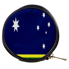Flag Star Blue Green Yellow Mini Makeup Bags by Mariart