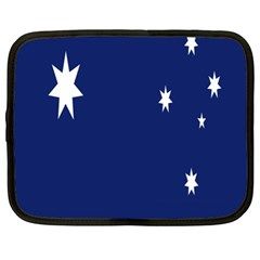 Flag Star Blue Green Yellow Netbook Case (xl)  by Mariart