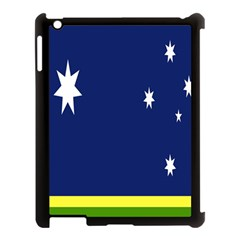 Flag Star Blue Green Yellow Apple Ipad 3/4 Case (black) by Mariart