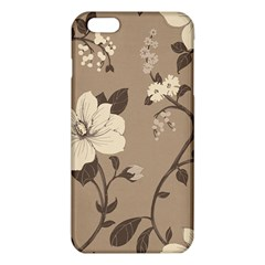 Floral Flower Rose Leaf Grey Iphone 6 Plus/6s Plus Tpu Case by Mariart