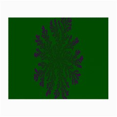 Dendron Diffusion Aggregation Flower Floral Leaf Green Purple Small Glasses Cloth by Mariart