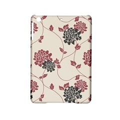 Flower Floral Black Pink Ipad Mini 2 Hardshell Cases by Mariart