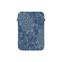 Flower Floral Blue Rose Star Apple Ipad Mini Protective Soft Cases by Mariart