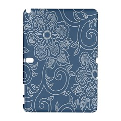 Flower Floral Blue Rose Star Galaxy Note 1 by Mariart