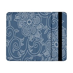 Flower Floral Blue Rose Star Samsung Galaxy Tab Pro 8 4  Flip Case by Mariart