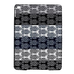 Digital Print Scrapbook Flower Leaf Colorgray Black Purple Blue Ipad Air 2 Hardshell Cases by Mariart