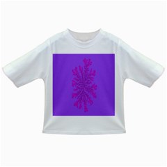 Dendron Diffusion Aggregation Flower Floral Leaf Red Purple Infant/toddler T Shirts by Mariart