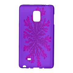 Dendron Diffusion Aggregation Flower Floral Leaf Red Purple Galaxy Note Edge by Mariart