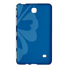 Hibiscus Sakura Classic Blue Samsung Galaxy Tab 4 (8 ) Hardshell Case  by Mariart