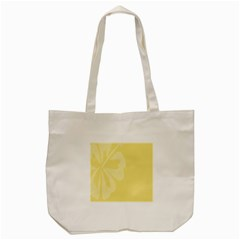Hibiscus Custard Yellow Tote Bag (cream) by Mariart