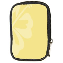 Hibiscus Custard Yellow Compact Camera Cases by Mariart