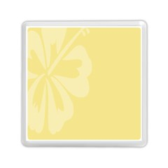 Hibiscus Custard Yellow Memory Card Reader (square)  by Mariart