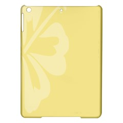 Hibiscus Custard Yellow Ipad Air Hardshell Cases by Mariart