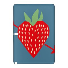 Fruit Red Strawberry Samsung Galaxy Tab Pro 10 1 Hardshell Case by Mariart