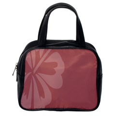 Hibiscus Sakura Red Classic Handbags (one Side) by Mariart