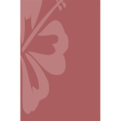 Hibiscus Sakura Red 5 5  X 8 5  Notebooks by Mariart