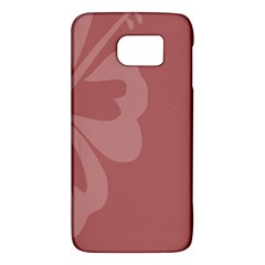 Hibiscus Sakura Red Galaxy S6 by Mariart