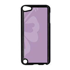 Hibiscus Sakura Lavender Herb Purple Apple Ipod Touch 5 Case (black) by Mariart