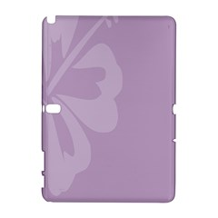 Hibiscus Sakura Lavender Herb Purple Galaxy Note 1 by Mariart