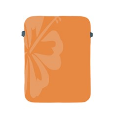 Hibiscus Sakura Tangerine Orange Apple Ipad 2/3/4 Protective Soft Cases by Mariart
