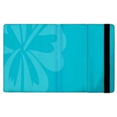 Hibiscus Sakura Scuba Blue Apple Ipad 2 Flip Case by Mariart