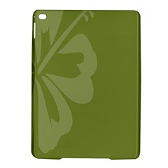 Hibiscus Sakura Woodbine Green Ipad Air 2 Hardshell Cases by Mariart
