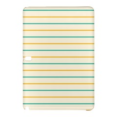 Horizontal Line Yellow Blue Orange Samsung Galaxy Tab Pro 12 2 Hardshell Case by Mariart