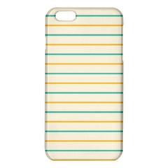Horizontal Line Yellow Blue Orange Iphone 6 Plus/6s Plus Tpu Case by Mariart