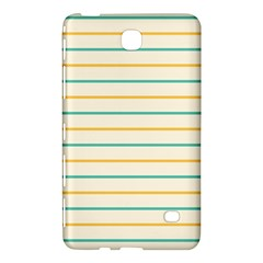 Horizontal Line Yellow Blue Orange Samsung Galaxy Tab 4 (7 ) Hardshell Case  by Mariart