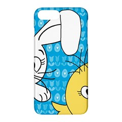 Easter Bunny And Chick  Apple Iphone 7 Plus Hardshell Case