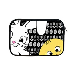 Easter Bunny And Chick  Apple Ipad Mini Zipper Cases by Valentinaart