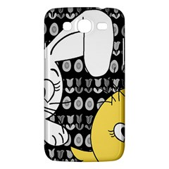 Easter Bunny And Chick  Samsung Galaxy Mega 5 8 I9152 Hardshell Case