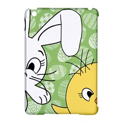 Easter Bunny And Chick  Apple Ipad Mini Hardshell Case (compatible With Smart Cover) by Valentinaart