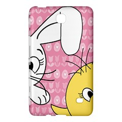 Easter Bunny And Chick  Samsung Galaxy Tab 4 (7 ) Hardshell Case  by Valentinaart