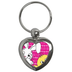 Easter Key Chains (heart)  by Valentinaart