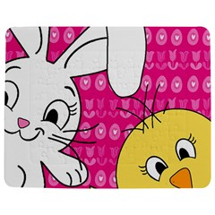 Easter Jigsaw Puzzle Photo Stand (rectangular) by Valentinaart
