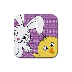 Easter Rubber Coaster (square)  by Valentinaart